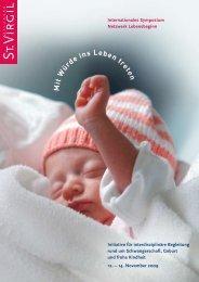 Mit Würde ins Leben treten - Geburtsallianz Österreich