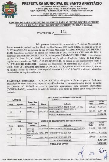 PREFEITl-.Á MUNICIPAL DE SANTO ANÚTÁCIO - Prefeitura ...