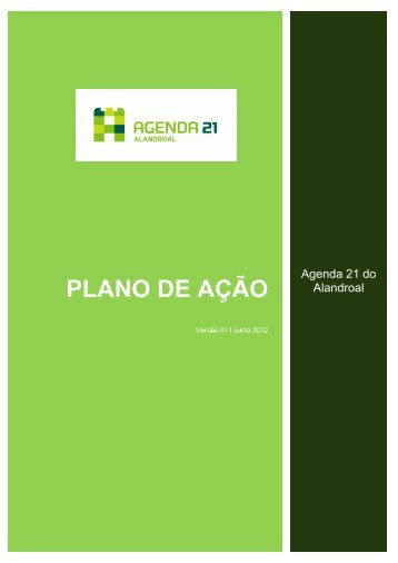 PLANO DE AÇÃO - Câmara Municipal do Alandroal