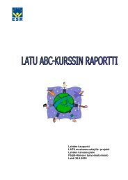 LATU ABC-kurssin raportti - Lahti
