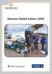 Newton Mobil Salten 2009