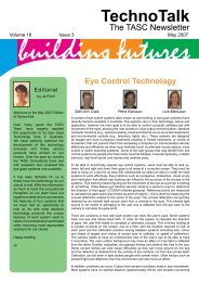 Volume 16, No 3 – Eye Control Technology - Cerebral Palsy Alliance