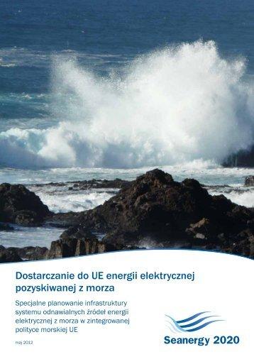 Dostarczanie do UE energii elektrycznej ... - Seanergy 2020