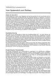 Jahresbericht 2010 - Heilpädagogisches Zentrum Uri