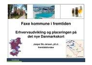 Faxe kommune i fremtiden - Fremtidsforskeren Jesper Bo Jensen