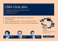 CMO-Circle 2011 - Online Marketing Podcast