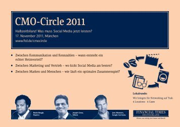 CMO-Circle 2011 - Online Marketing Podcast