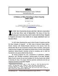 Boy Scouting in Kern County, 1905-52 - Gilbertgia.com