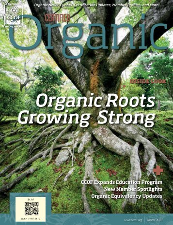 Organic Roots Growing Strong + - CCOF
