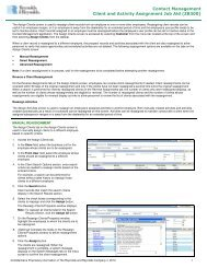 Client and Activity Assignment Job Aid - Reynolds & Reynolds ...