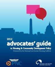 2012 Advocates' Guide to Housing & Community Development Policy