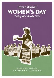 Download International Women's Day 2013 – Programme of Events