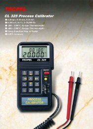 TECPEL CL325 Multifunction Calibrator