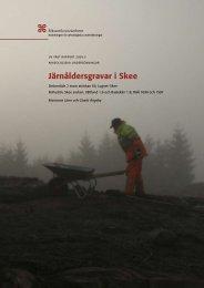 UV Väst Rapport 2009:2 - arkeologiuv.se