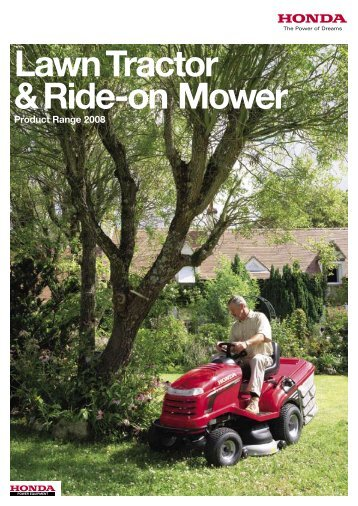 Lawn Tractor & Ride-on Mower - Honda-Mowers.com