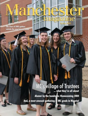 Spring 2005 - Manchester College