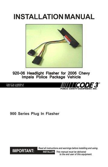 Code 3 2100 Lightbar Wiring Diagram Wiring Diagram Midoriva