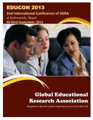 Global Educational Research Association