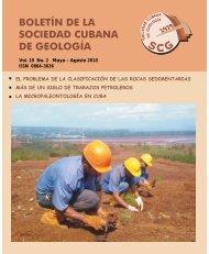 Volumen 10 No.2 año 2010 - Red Cubana de la Ciencia