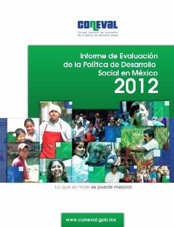 informe 2012 - Coneval
