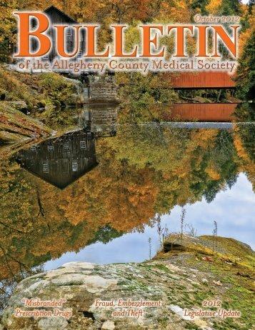 bulletin - Allegheny County Medical Society