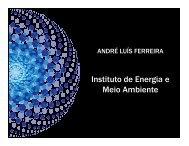 Instituto de Energia e Meio Ambiente - Rede Nossa São Paulo