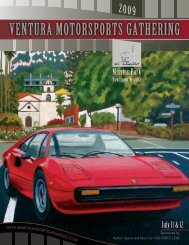 100 Year + - Ventura Motorsports Gathering