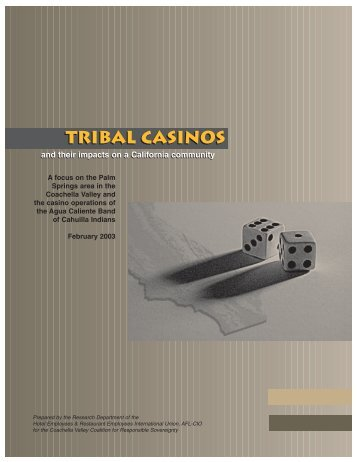 Tribal Casinos - Stand Up California