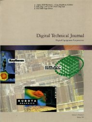 DTJ Volume 6 Number 2 1994 (PDF, 13.48 - Digital Technical ...