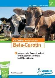 Prospekt Vilomin Beta-Carotin - Deutsche Vilomix Tierernährung ...