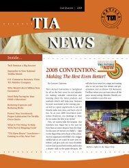 2008 CONVENTION: - Tortilla Industry Association