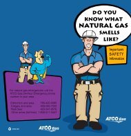 Do you know what natural gas smells like? - ATCO Gas