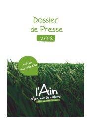 Téléchargez le dossier de Presse et inspirez-vous en ... - Ain-pro.com