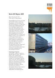 Kick-Off Mipim 2009 - Byens Netværk