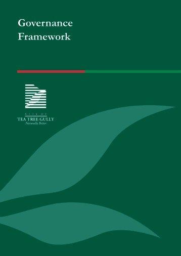 Section 2 Governance framework - City of Tea  Tree Gully