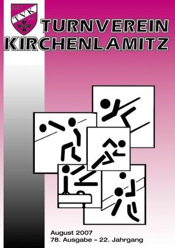 Steffi - Herzlich Willkommen beim Turnverein Kirchenlamitz