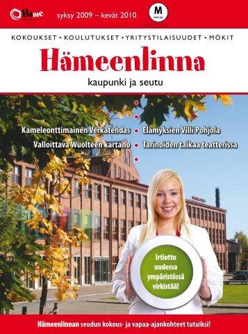 Lue lehti! - Kehittämiskeskus Oy Häme