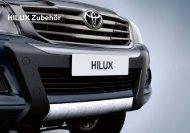 HILUX Zubehör - Toyota