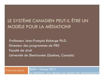 Prof. Jean-François Roberge