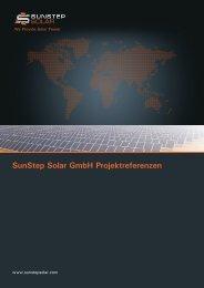SunStep Solar GmbH Projektreferenzen
