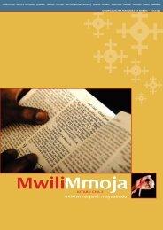 Mwili Mmoja - Norges Kristne Råd