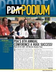 pda's 8th annual conference a huge success! - Polyurea ...