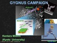 GYGNUS CAMPAIGN