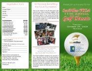 The Eleventh Annual SeaMiles FCCA Golf Classic, October 28, 2008