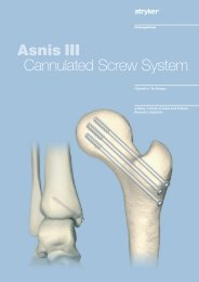 Asnis III Cannulated Screw System - Osteosyntese