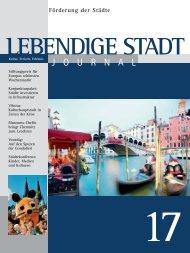 Journal 17 zum downloaden (PDF 3,8 MB - Lebendige Stadt