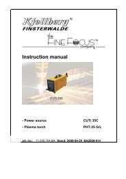 Instruction manual - Walsh Engineering Supplies