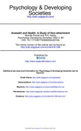 Anasakti and health: A study of non-attachment - Indian Psychology ...
