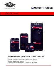 SERIE VMX – Arrancadores Suaves Digitales - Logismarket