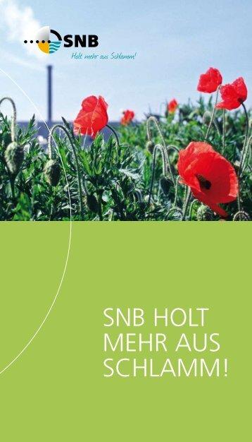 SNB holt mehr auS Schlamm!